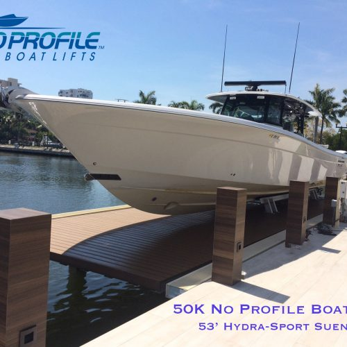 Projects No Profile Boat Lifts