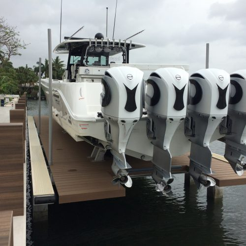 50k No Profile Platform Lift No Profile Boat Lifts